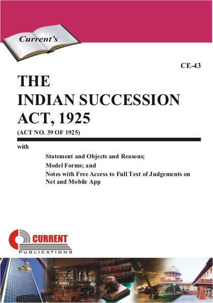 THE INDIAN SUCCESSION ACT, 1925