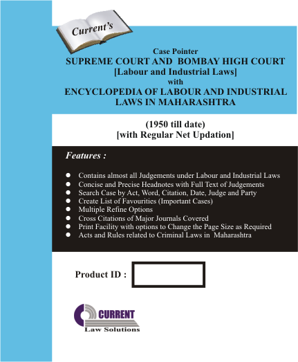 Case Pointer Supreme Court and Bombay High Court (Labour and Industrial Laws)