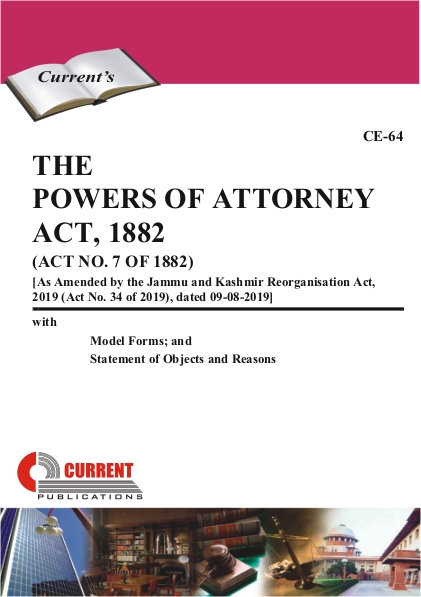 THE POWERS OF ATTORNEY ACT, 1882