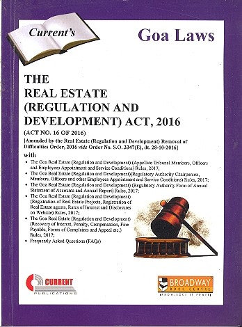 THE REAL ESTATE (REGULATION AND DEVELOPMENT) ACT, 2016