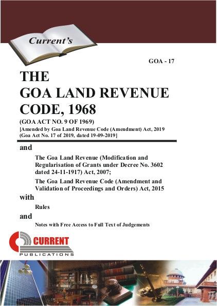 THE GOA LAND REVENUE CODE, 1968