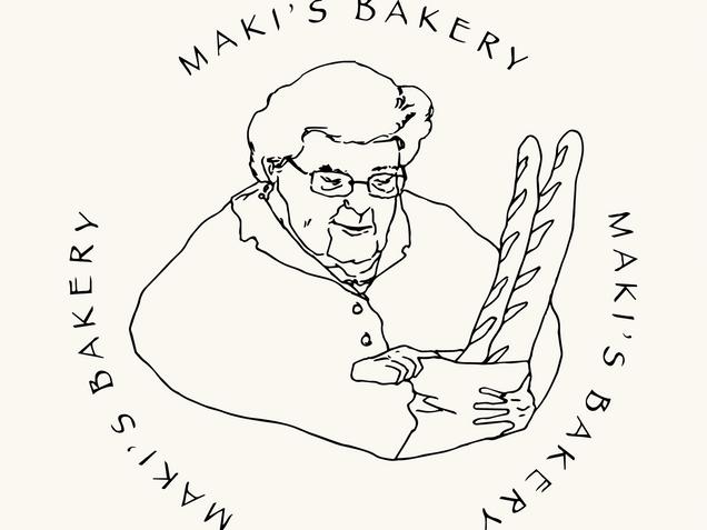Maki's Bakery Logo