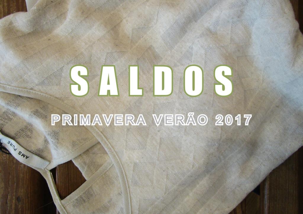 Campanha SALDOS Primavera Verão 2017