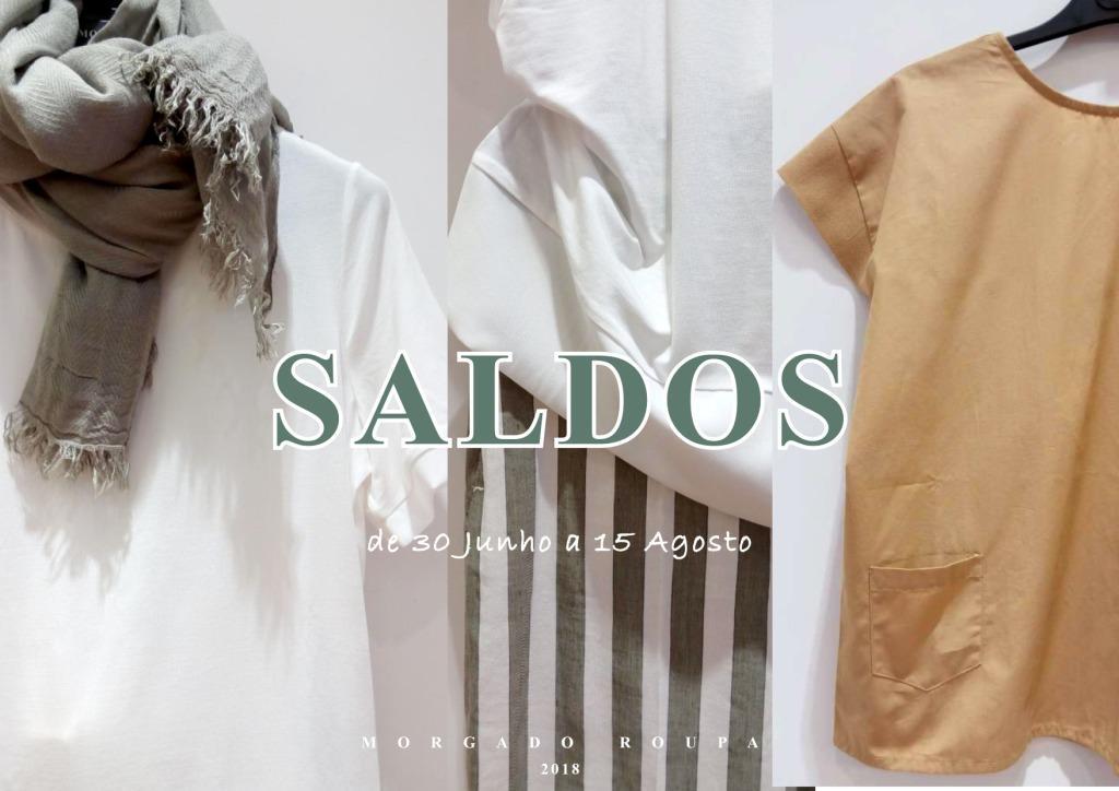 Campanha SALDOS Primavera Verão 2018