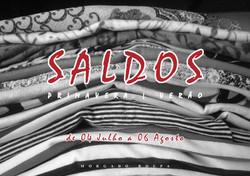Campanha SALDOS Primavera Verão 2016