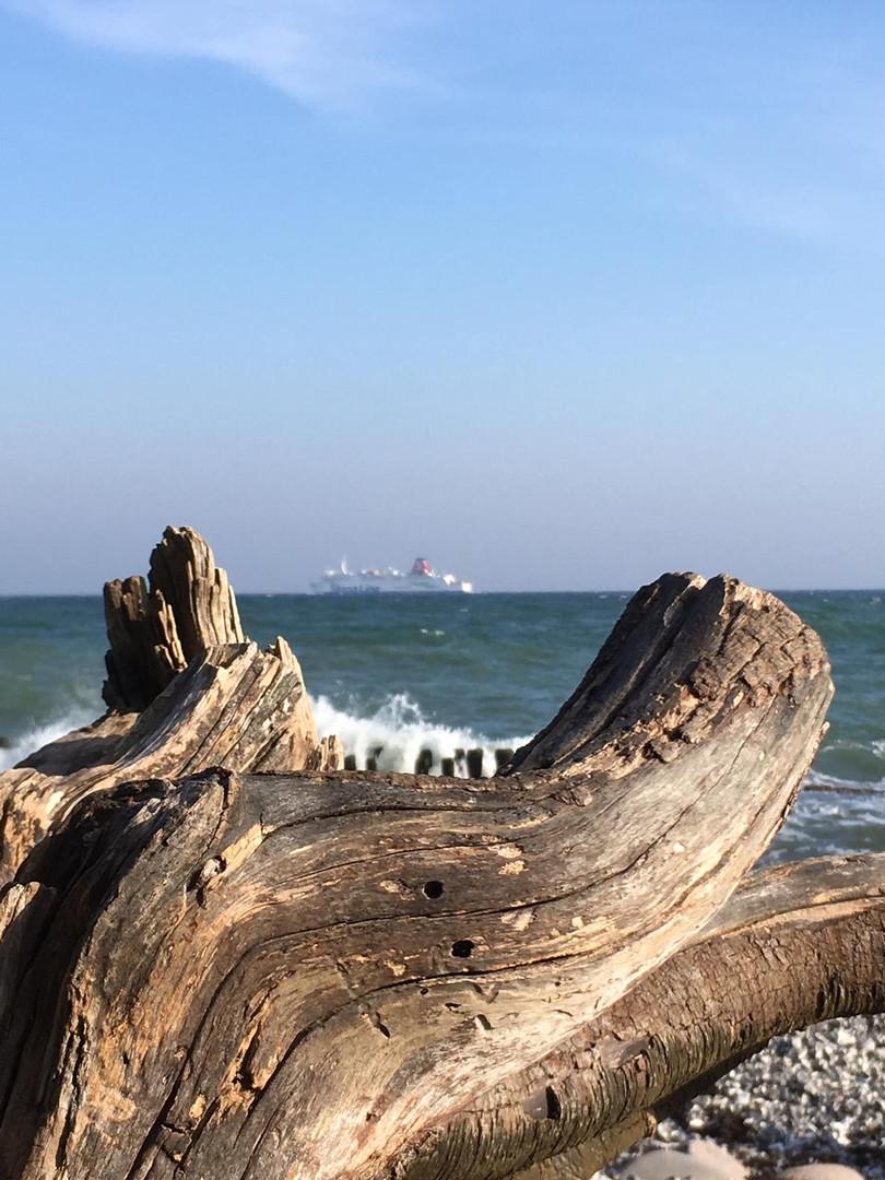 Eindruck vom Strand