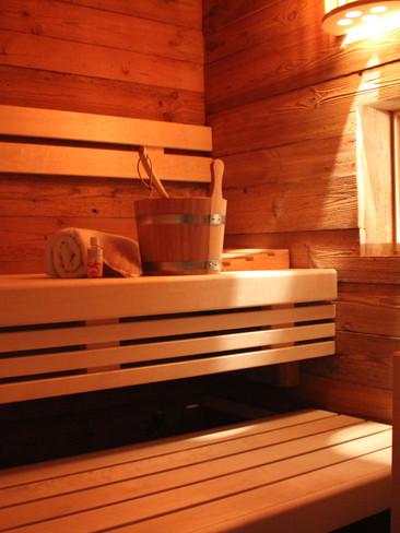 Sauna mit Meerblick