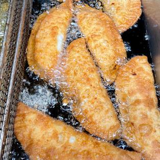 Cheesy-potato Fried Empanadas