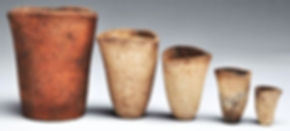 Hessian Curcibles likely used by a Dutch Alchemist