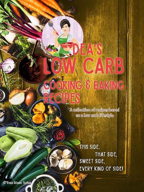 Dea's Low Carb Cooking & Baking E-book