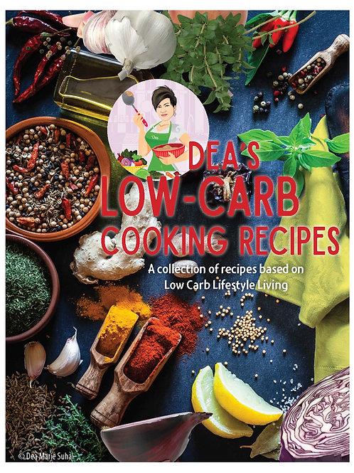 DEA'S RECIPES Printed Cookbook - US Shipping