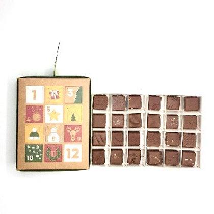 Calendrier de l' Avent - chocolat  au lait
