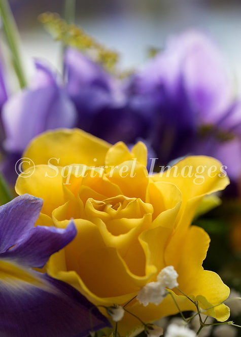 Bouquet - Greetings Card