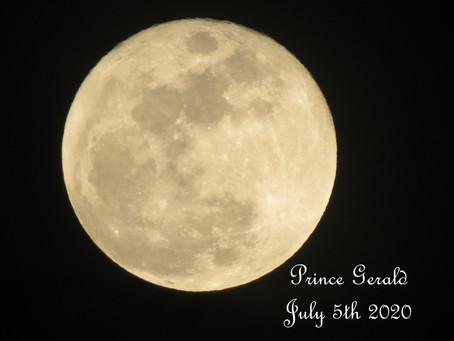 Full Moon July 5th 2020