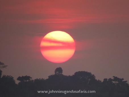 Sunset View On Sunday Evening.