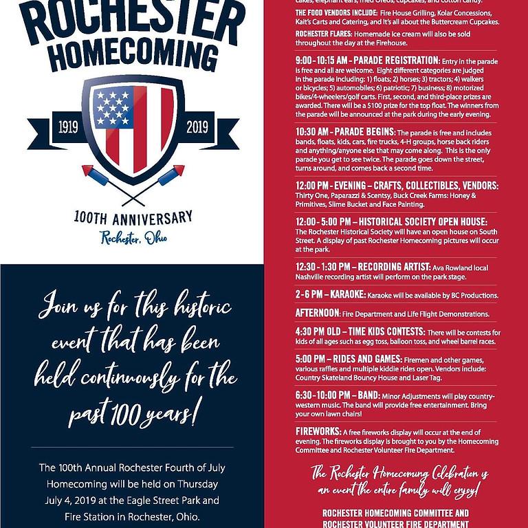 Rochester 100th Anniversary