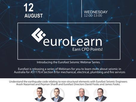 Eurofast Seismic Webinar Series Released - Eurolearn
