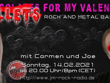 Der Valentinstag auf JM Rock Radio