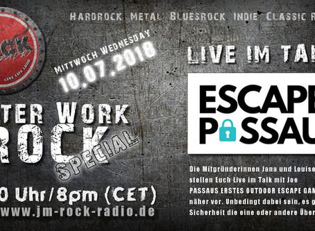 Livetalk mit ESCAPE PASSAU