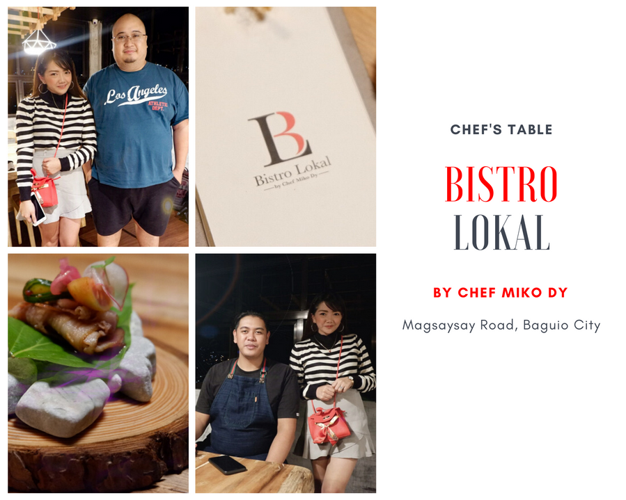 Chef's Table, Bistro Lokal by Chef Miko