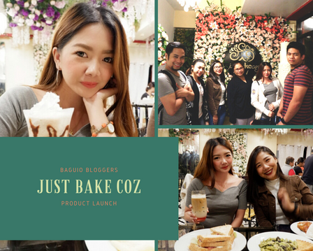 Just Bake Coz Product Launch
