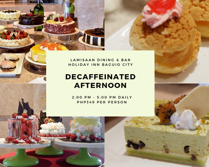 Decaffeinated Afternoons at Lamisaan Dining and Bar