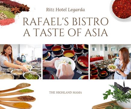Rafael's Bistro, Ritz Legarda