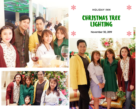 Christmas Tree Lighting - Holiday Inn
