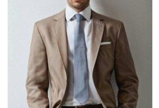 Combination Linen Suit