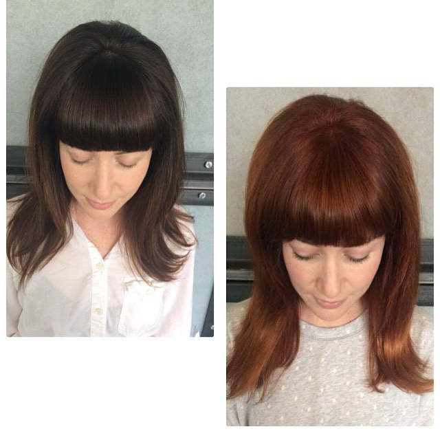 Brunette to Copper