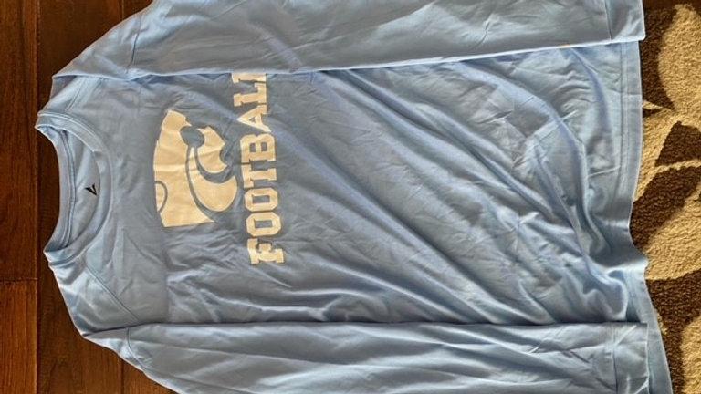 Blue Dry fit T Shirt