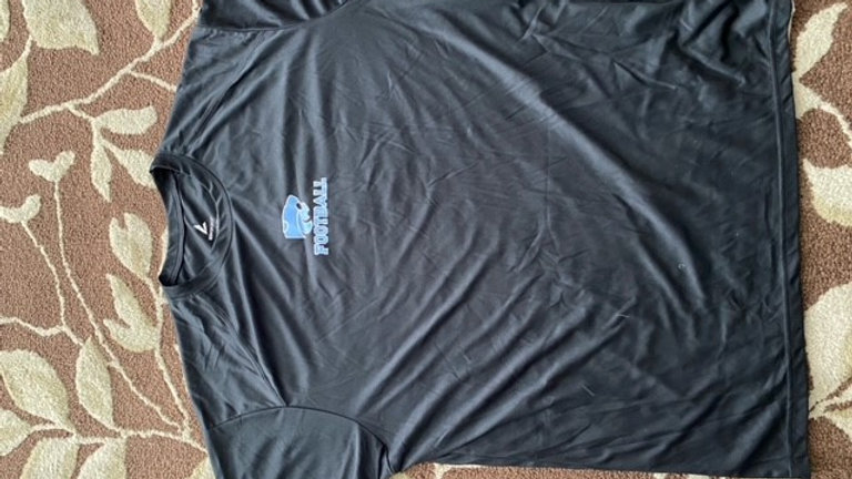 Black Dry fit T Shirt