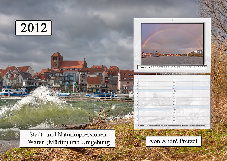 Kalender 2012 Waren (Müritz)
