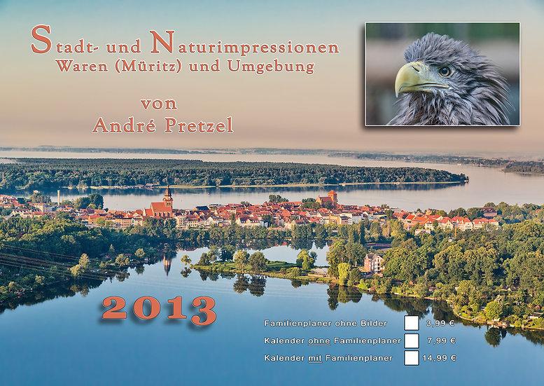 Kalender 2013 Waren (Müritz)