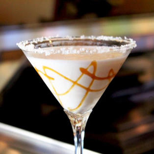 Salted Caramel Martini $11