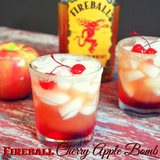 Fireball Cherry Apple Bomb $8