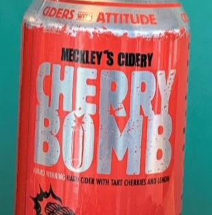 Cherry Bomb Cider- $5.50