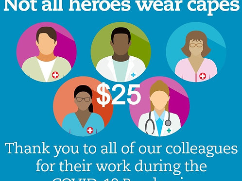 Thank you - First Responders/ Essential workers