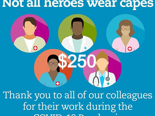 Silver Thank You - First Responders/ Essential workers