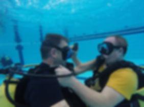 Pool training Simon and Matt AAS.JPG