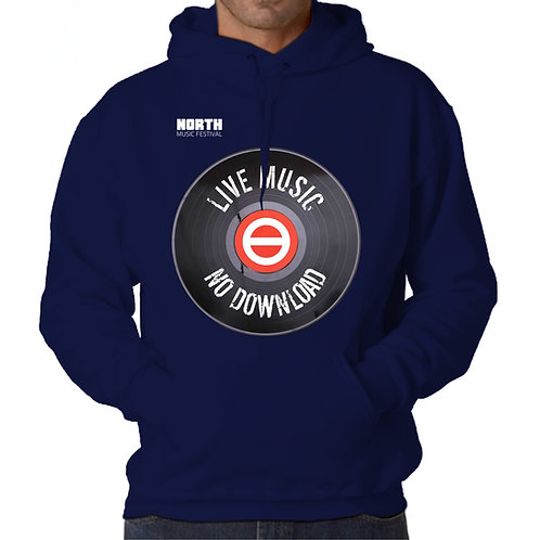 Sweatshirt c/ Capuz Live Music No Download