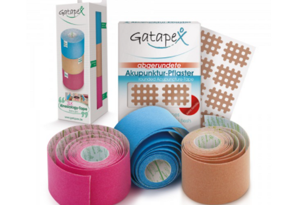 Set: Akupunktur-Pflaster & Kinesiology-Tape