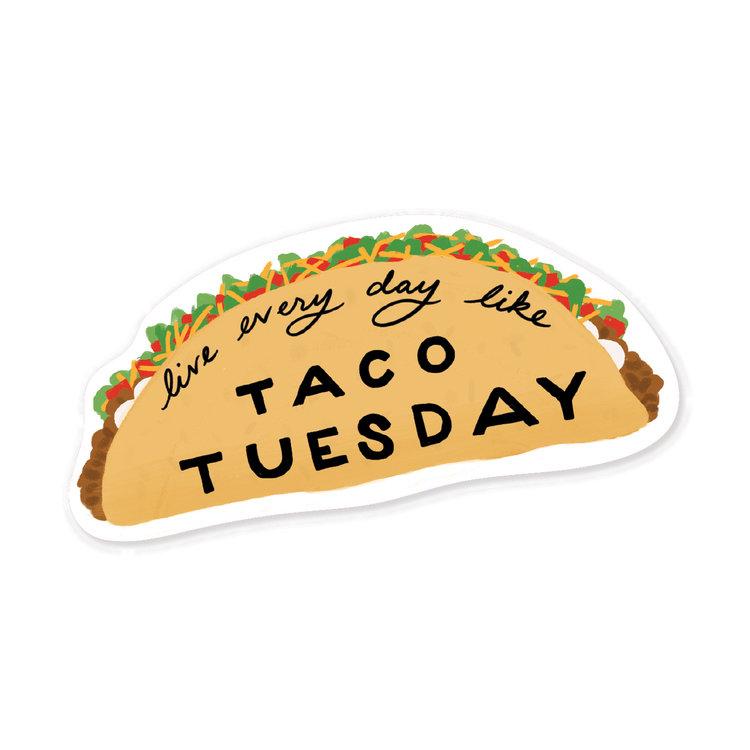 taco+t uesday+sticker
