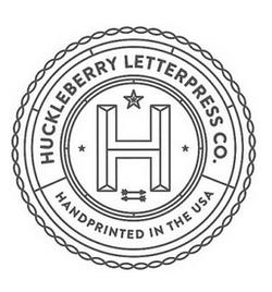 Huckleberry Letterpress