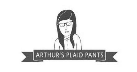 arthur's plaid pants