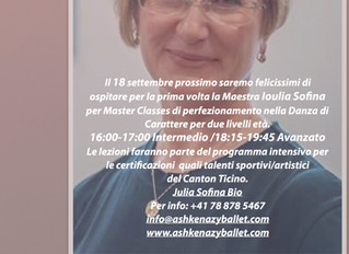 18 SETTEMBRE!!! SAVE THE DATE...