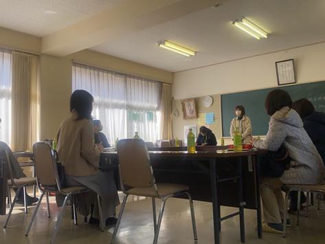 三勲学区母の会第3回理事会