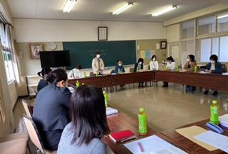三勲学区母の会 第二回理事会