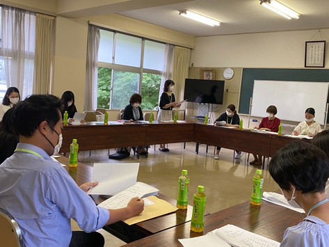 三勲学区交通安全母の会理事会