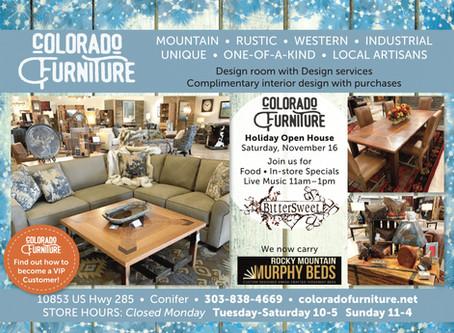 Colorado Furniture Pre-Holiday Sale!
